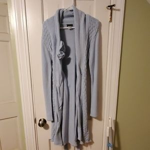 Venus size medium blue sweater cardigan